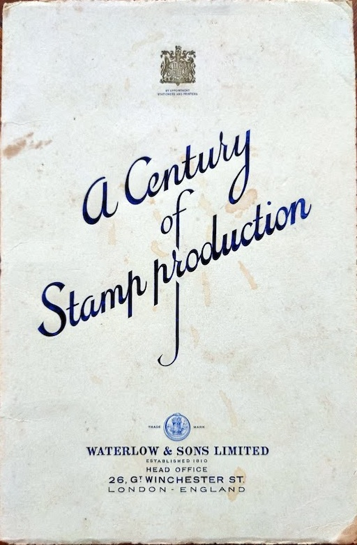 A Century of Stamp Production Williams 1