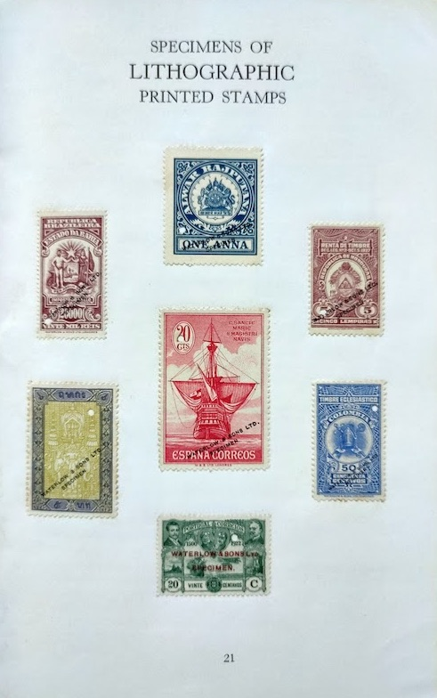 A Century of Stamp Production Williams 5
