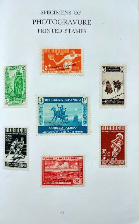 A Century of Stamp Production Williams 6