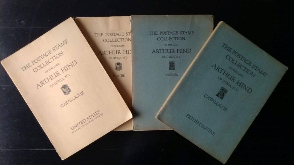 Auction Arthur Hind Catalogue US British Empire