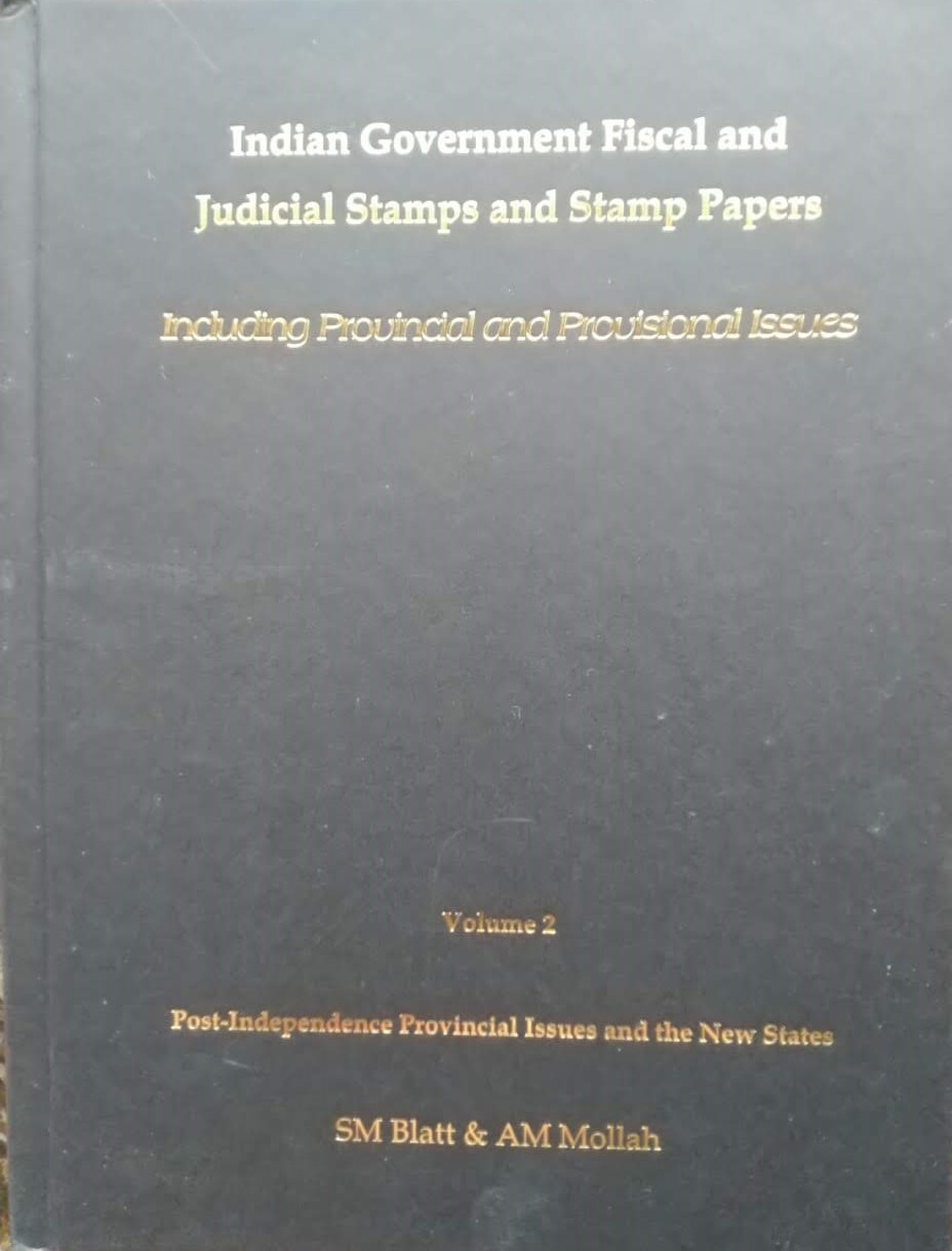 Fiscals Government Judicial Stamps Stamp Papers Blatt Millah Heppell Vol 2
