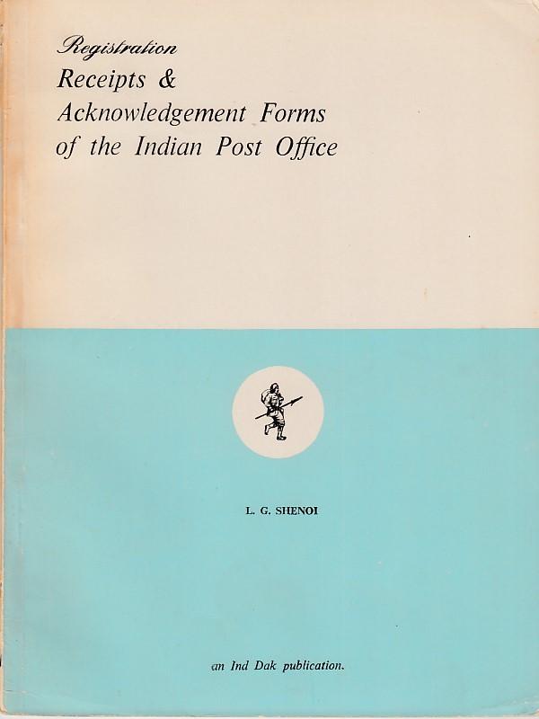 General Registration Receipts L.G. Shenoi
