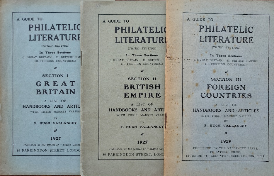 Guide to Philatelic Literature 3rdEd Vallancey