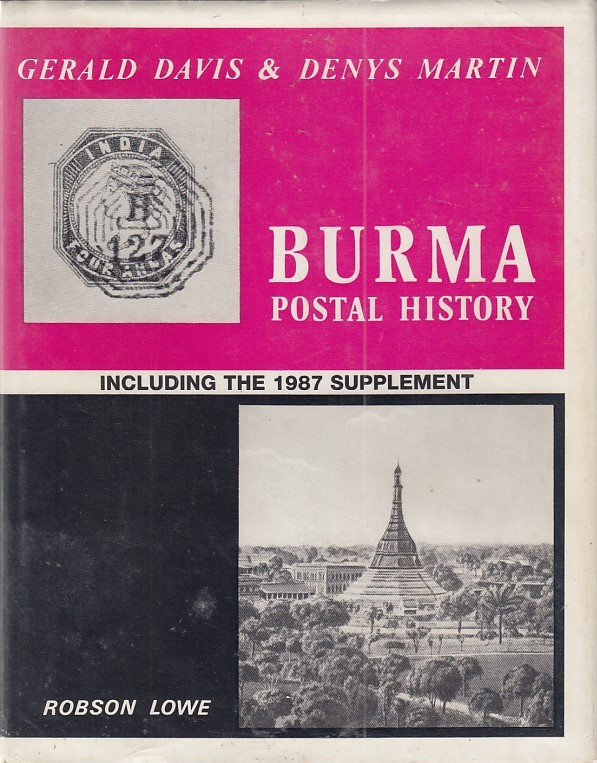 India Used Abroad Burma Gerald David Denys Martin