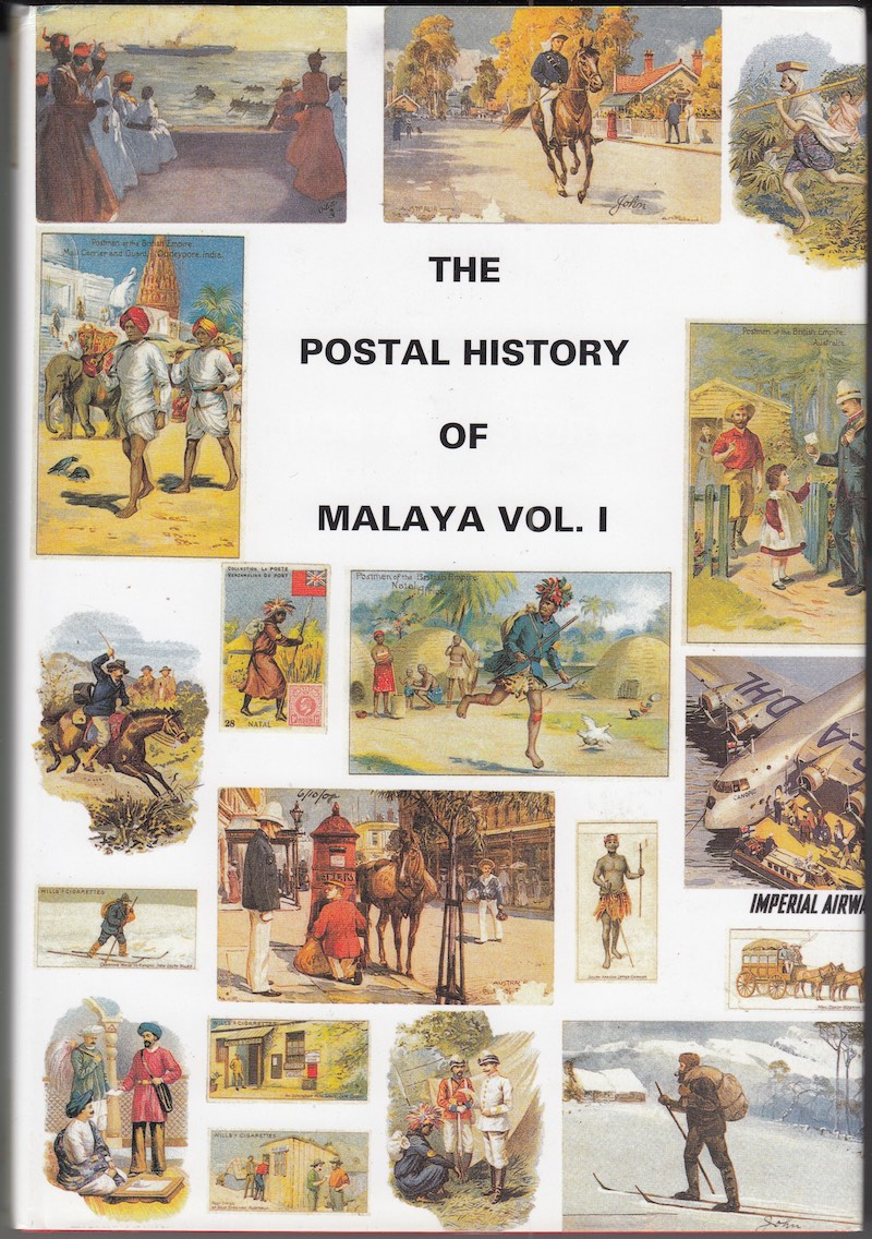 India Used Abroad Postal History Malaya Edward Proud
