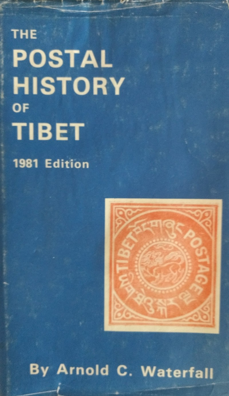 India Used Abroad Postal History Tibet Arnold Waterfall