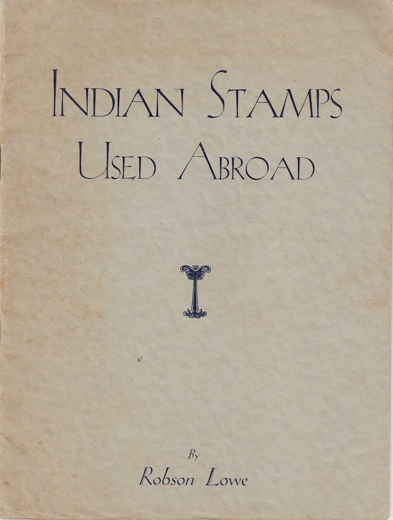 India Used Abroad Robson Lowe