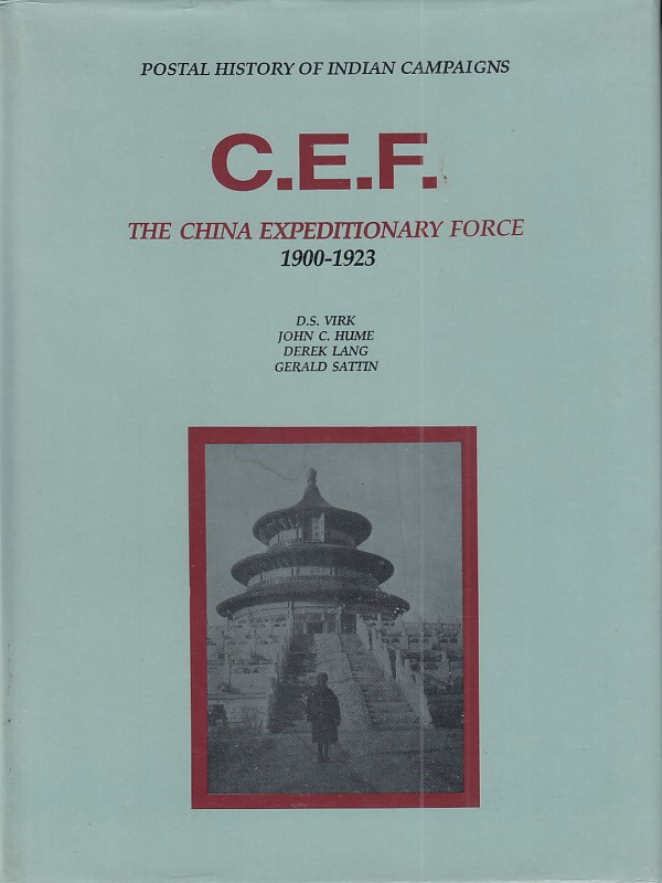 Military C.E.F. China Expeditionary Force Virk Hume Lang Sattin