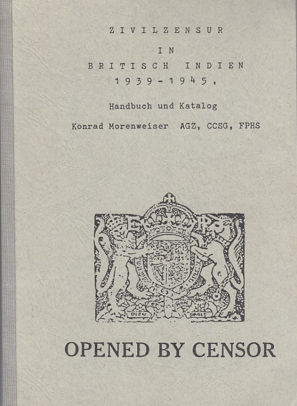 Military Censorship 1939 1945 Morenweiser
