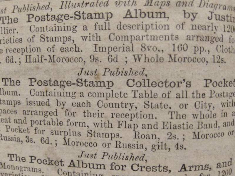 Vol. 1 No. 1 of The Stamp Collector's Magazine