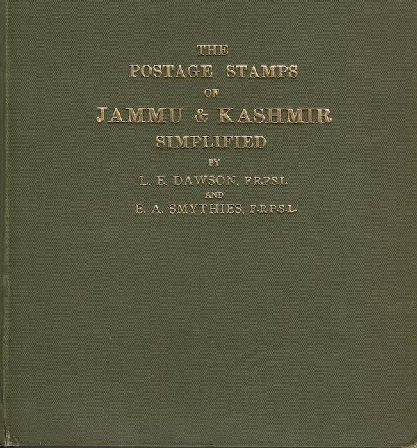 States Jammu Kashmir Simplified Dawson Smythies 1