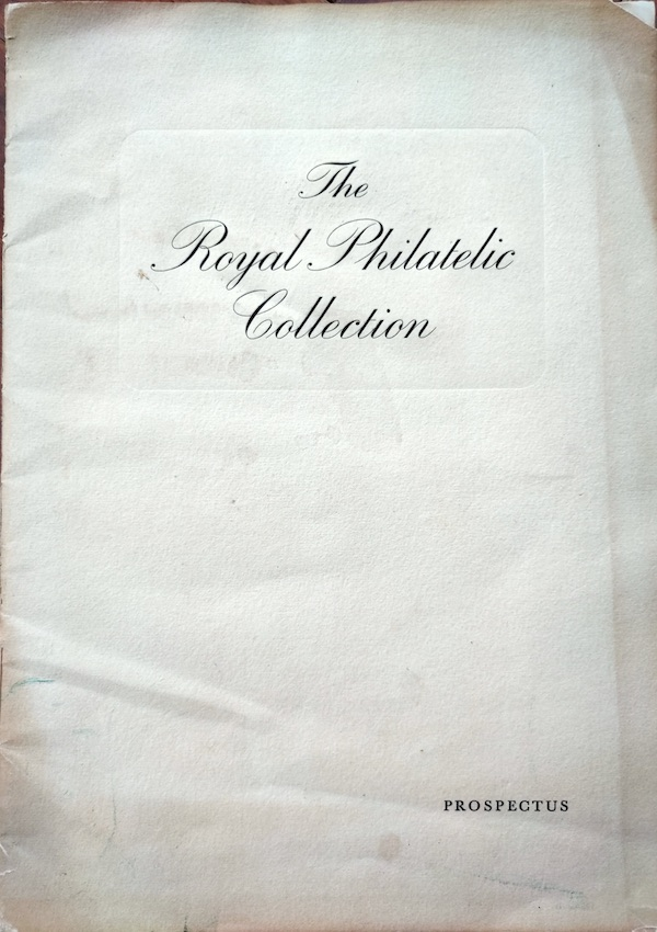 Royal Philatelic Collection Prospectus