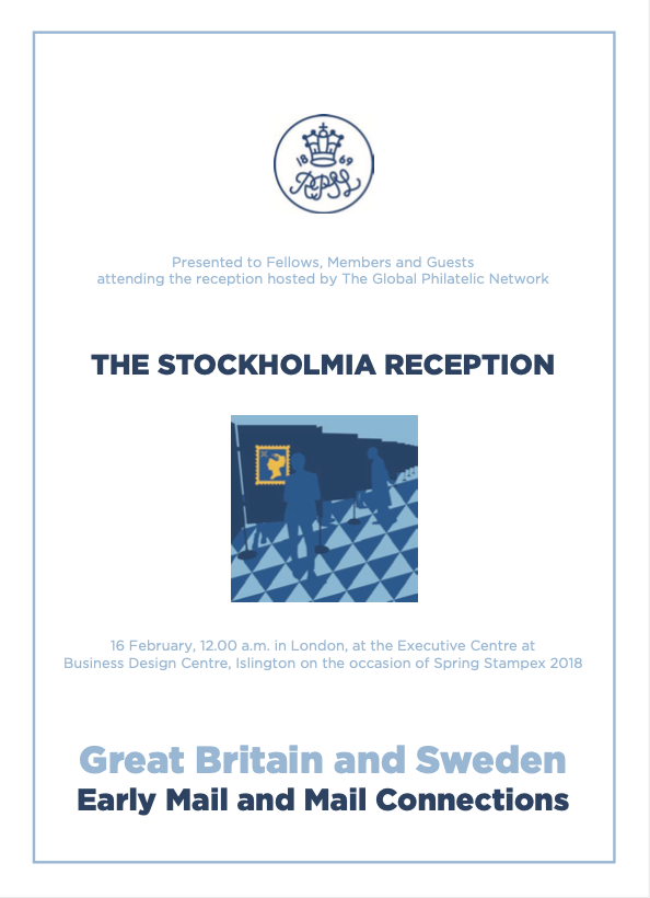 Stockholmia 2019 Great Britain and Sweden